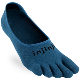 Injinji Sport Lightweight Hidden CoolMax Calcetines, steel